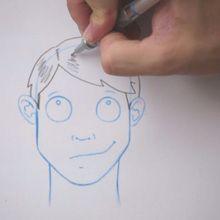 Truco para dibujar en vídeo : Cómo dibujar un flequillo