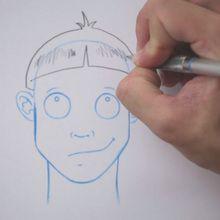 Truco para dibujar en vídeo : Dibujar un corte de pelo tipo TAZA