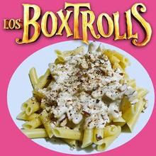 Cocinar con niños : Macarrones a la Boxtrolls
