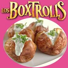 Cocinar con niños : Patatas a la Boxtrolls