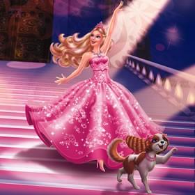 Juegos gratuitos de barbie en la princesa y la pop star  es
