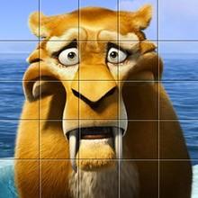 Puzzle en línea : Diego - Ice Age