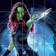Puzzle en línea : Gamora
