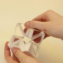 Doblado de papel : papiroflexia triángulos