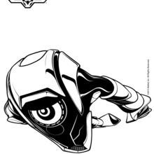 Dibujo para colorear : Steel al ataque