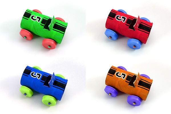 Manualidad infantil : Fabricar un coche