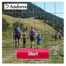 Puzzle en línea : Paseo en Andorra