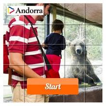 Puzzle en línea : Encuentro con Osos pardos en Andorra