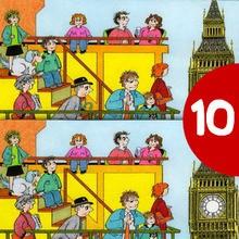 Juego de buscar las diferencias : BIG BEN en Londres