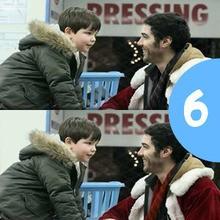 Juego de buscar las diferencias : Santa Claus la película