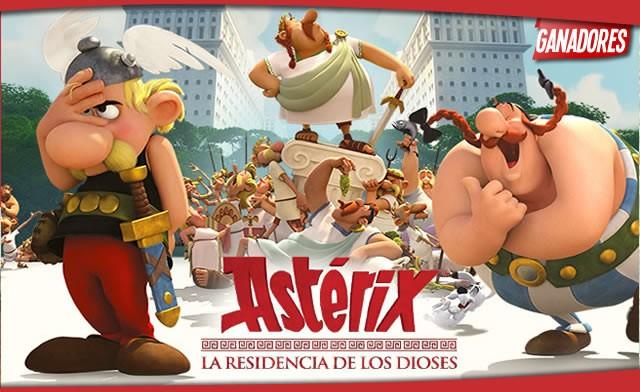 Llévate regalos de la película Astérix y Obélix