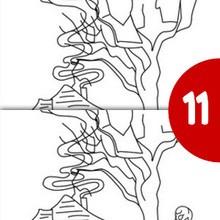 CASA ENCANTADA busca las 12 dferencias