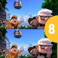 Juego de buscar las diferencias : UP - Pixar