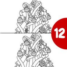 ARBOL NAVIDEÑO busca las 12 diferencias