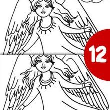 Juego de buscar las diferencias : ANGEL NAVIDEÑO