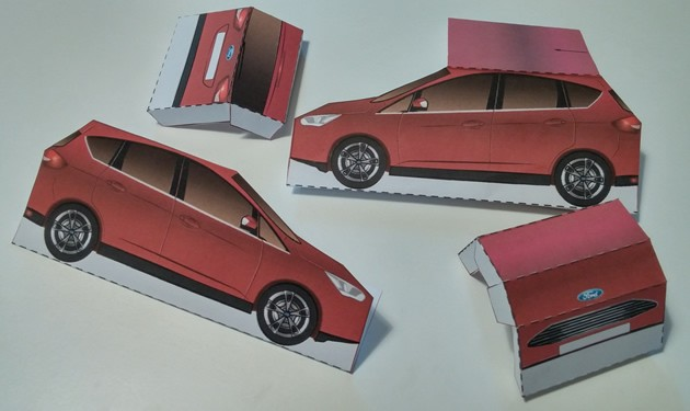 Juguete Ford C-MAX para fabricar