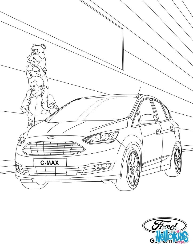 Dibujos para colorear COCHES - 75 dibujos de coches para pintar