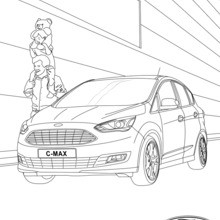 Coche familiar Ford C-MAX