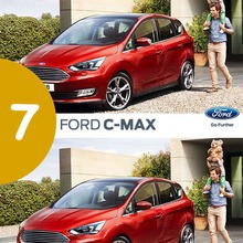 Observa el nuevo Ford C-MAX