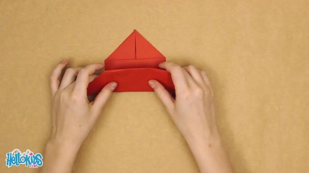 Doblado de papel: Origami mariposa
