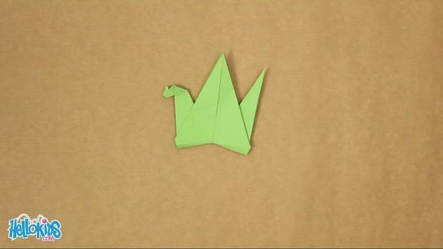 Doblado de papel : Dragón de papel