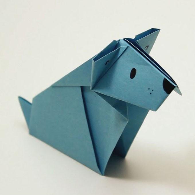 El Perro de Origami
