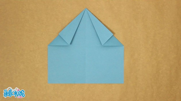 Doblado de papel : El perro de origami