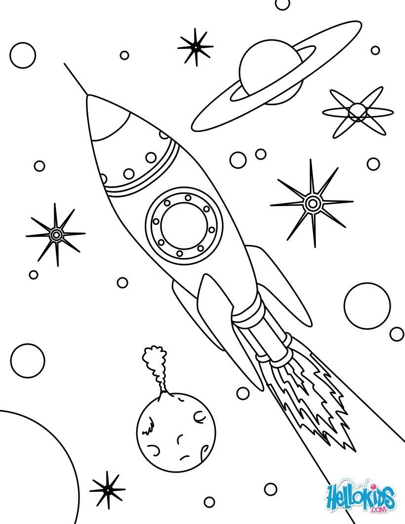 Juegos De Cohetes Espaciales. Stunning Base Espacial Con Y Lanza ...