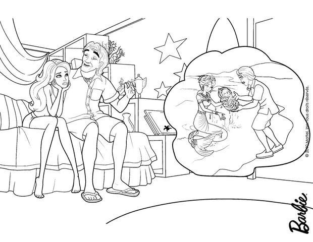 Juegos De Colorear Frozen En Linea Biblioteca De: Dibujos Para Colorear Merliah Con Su Abuelo