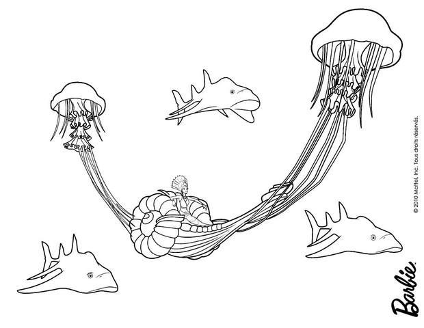 dibujos para colorear oceana  eshellokids