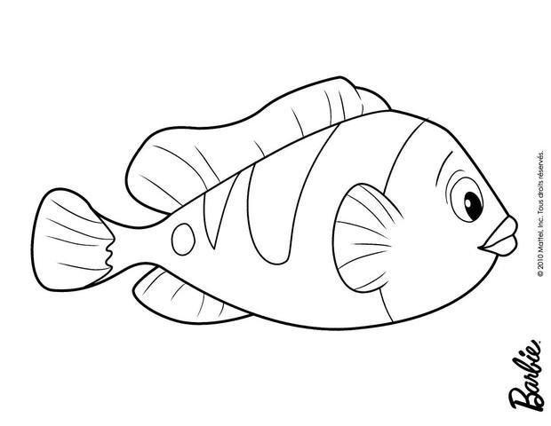 Dibujos para colorear pez de oceana - es.hellokids.com