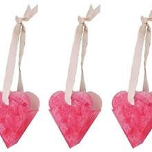 Cestas corazones de papel