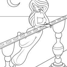 Dibujo para colorear : Scheherazade