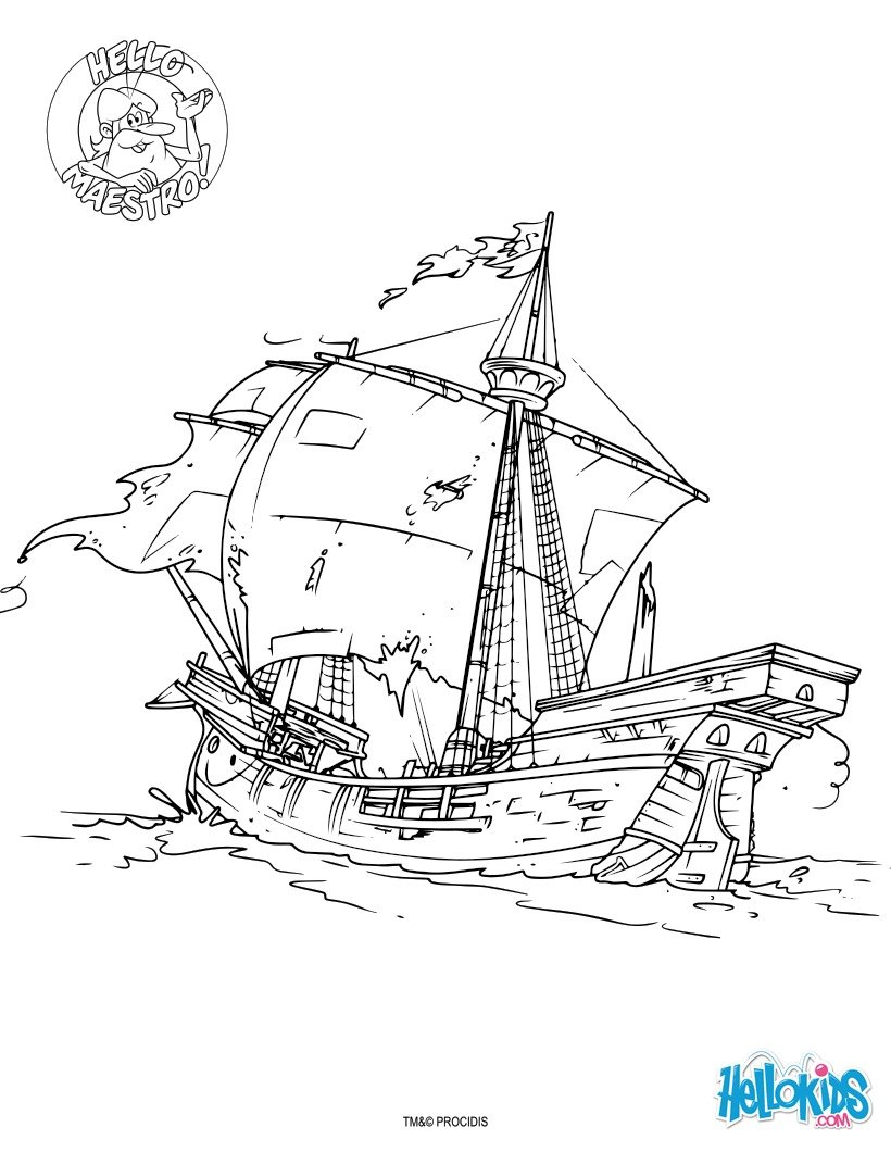 Dibujos para colorear el explorador - es.hellokids.com