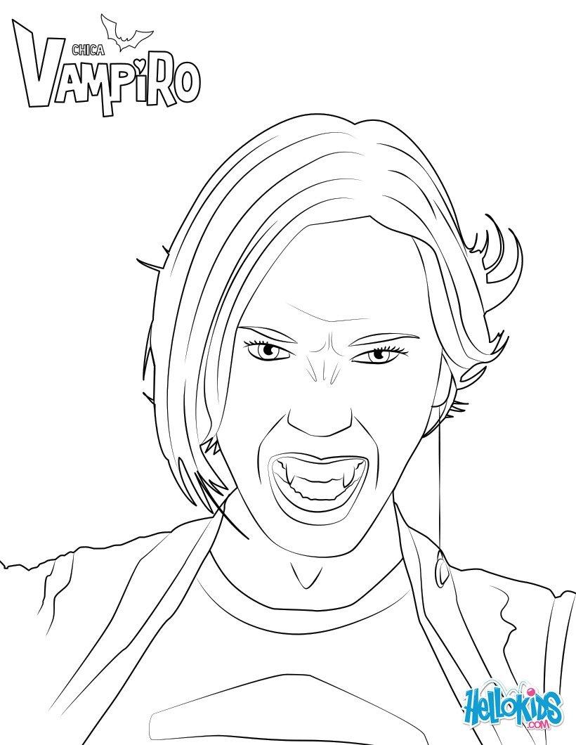 Dibujos Para Colorear Daisy De Chica Vampiro Eshellokidscom