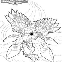 Dibujo para colorear : Stormblade