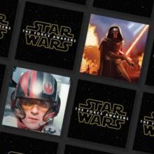 Juego de parejas : Memory Star Wars - El despertar de la Fuerza