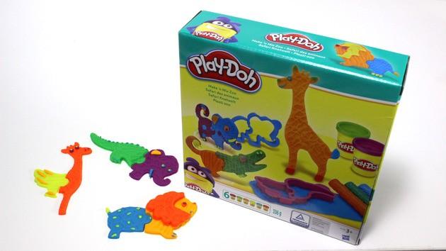 Manualidad infantil: Animales de la Selva en plastilina