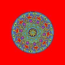 Navidad, Dibujos de MANDALAS NAVIDEÑOS para colorear