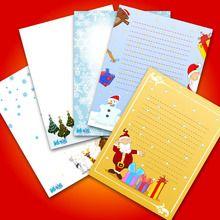 Juego : Letra al Papá Noel para imprimir