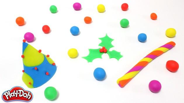 Infantil manualidad: Año Nuevo plastilina