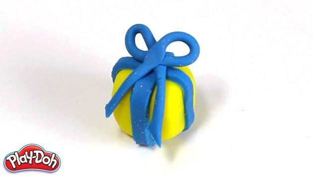 Manualidad infantil: Navidad con plastilina moldeado