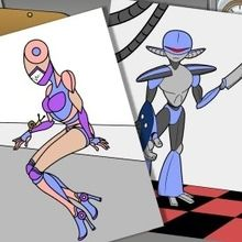 ROBOTS para pintar