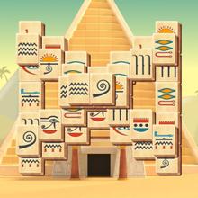 Juego para niños : Mahjong Pyramid