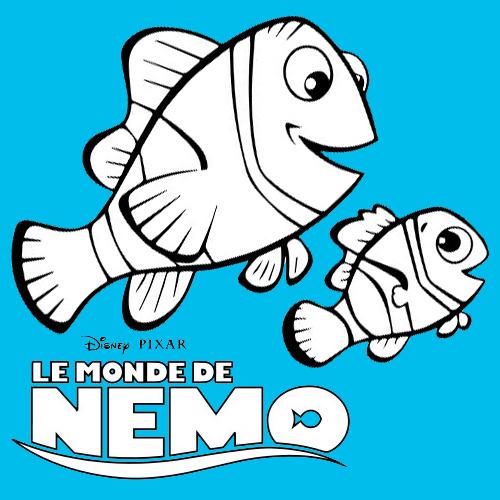 Los peces Marlin, Dory y Nemo