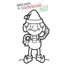 Ilustración : Duende de navidad