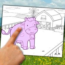 Dibujo para colorear : Crear un dibujo del mundo de los animales para pintar