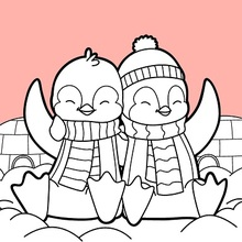 Valentines Pingüinos