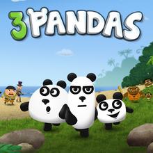 Juego para niños : 3 Pandas