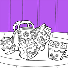shopkins gran jam appleblossom dibujo para colorear brunch de shopkin